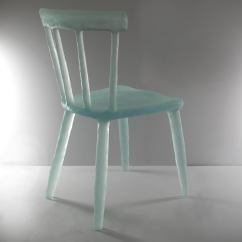 Director Chairs For Sale Best Hunting Chair Blind Glow In Aqua, Handmade From Cast Recycled Resin, Acrylic And Plastic At 1stdibs