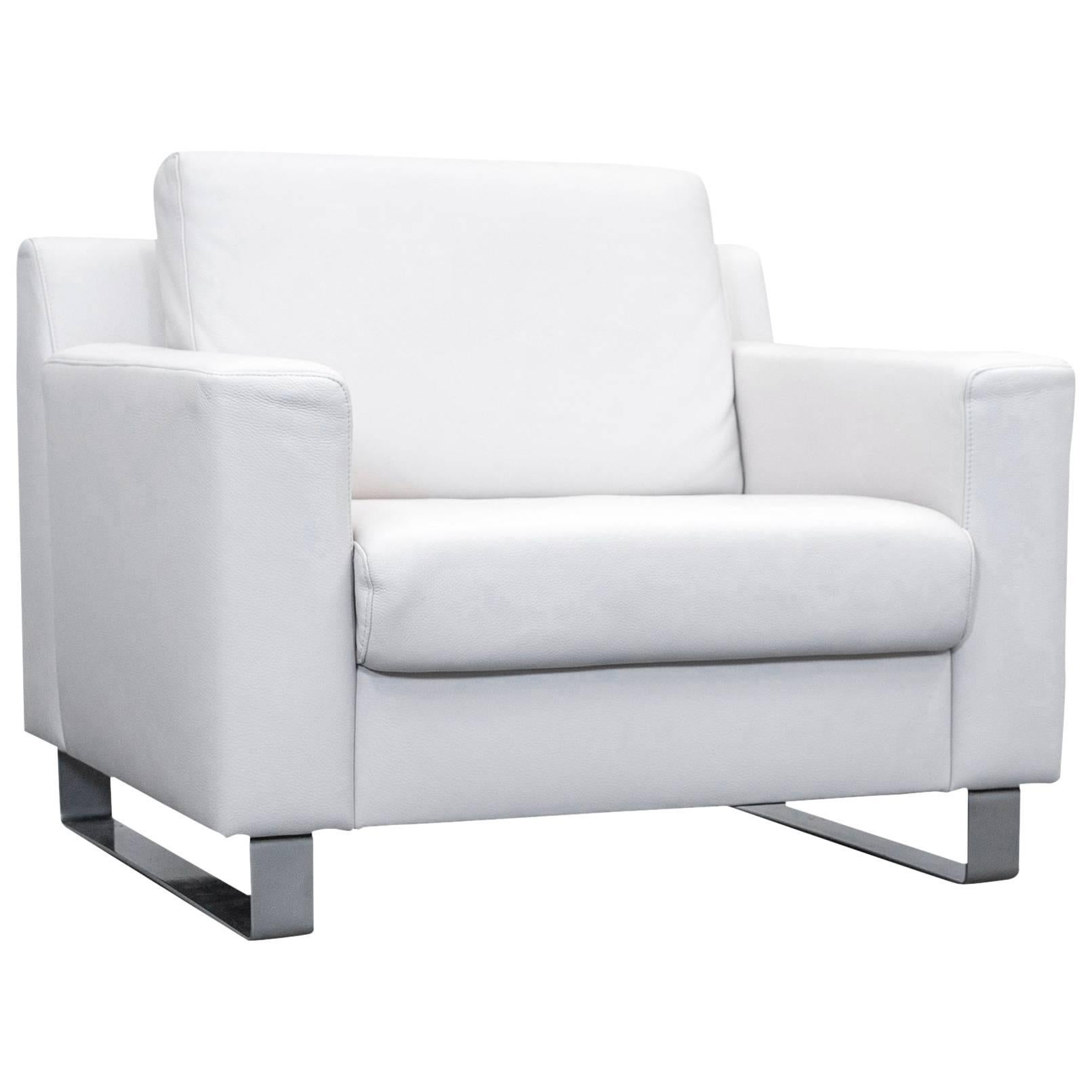 one sofa seat price ewald schillig designer leather armchair white couch modern for sale