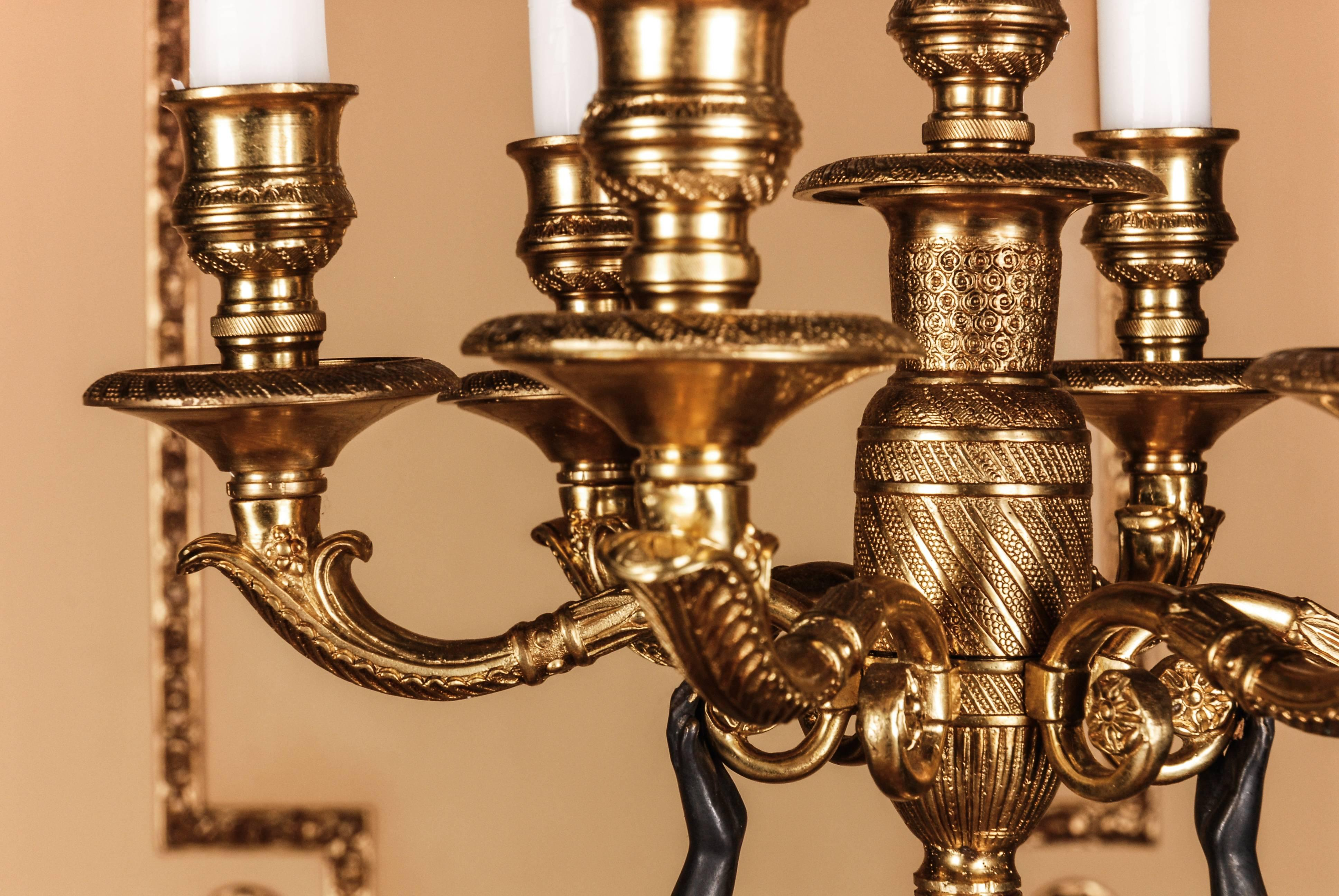 Princely Splendor Candelabra After P Philippe Thomire For