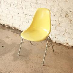 Herman Miller Stacking Chairs Home Innovations Chair Covers Charles And Ray Eames For Dss At 1stdibs Yellow Fiberglass Stackable Designed By Amp