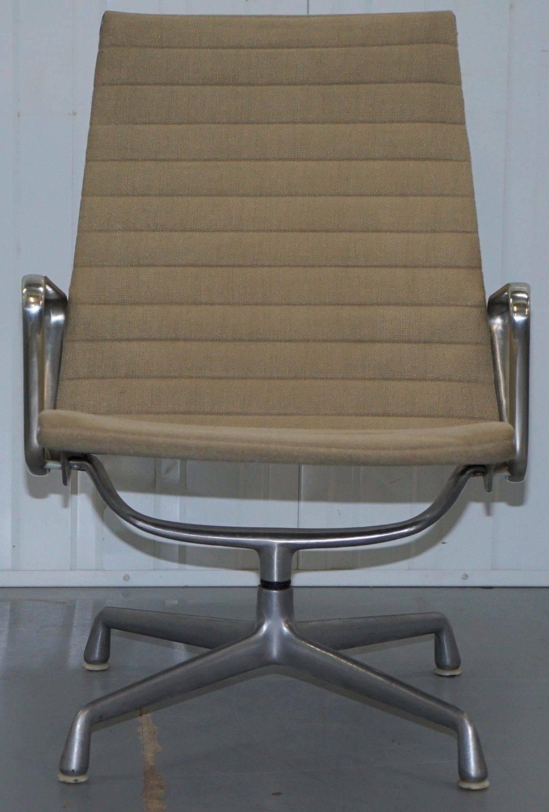 1 of 3 Vitra Eames Herman Miller EA 116 Hopsack Swivel