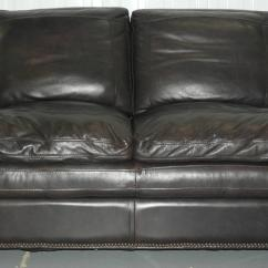 Brown Leather Studded Sofa Crumpet Corner Contemporary Double Cushion Extra Comfortable We Are Delighted To Offer For Sale This Lovely