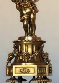 Early 20th Century French Art Nouveau Gilt Bronze Cherub ...