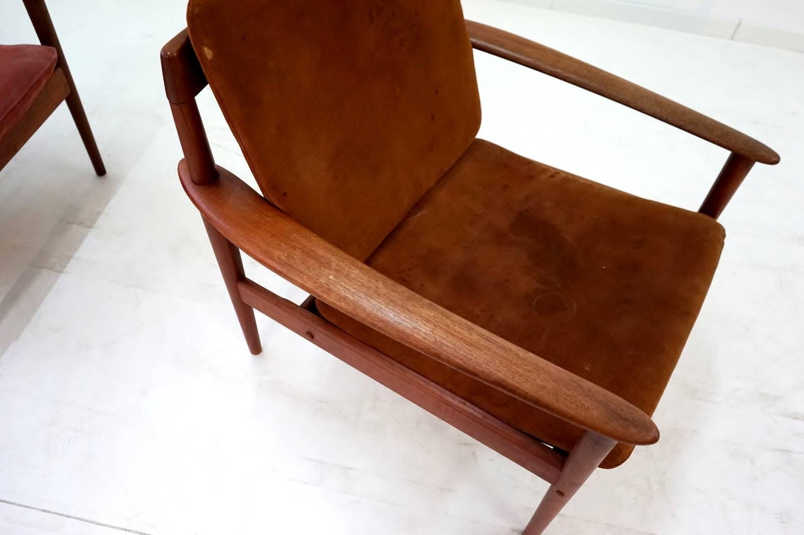 Teak Sessel Danish Danish Design Sessel 60er