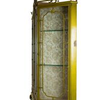 Painted Ironwork Display Cabinet For Sale at 1stdibs