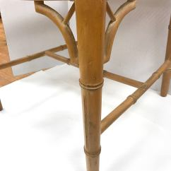 Dining Chairs With Caning Whicker Faux Bamboo Chinese Chippendale Style Cane Seats At 1stdibs