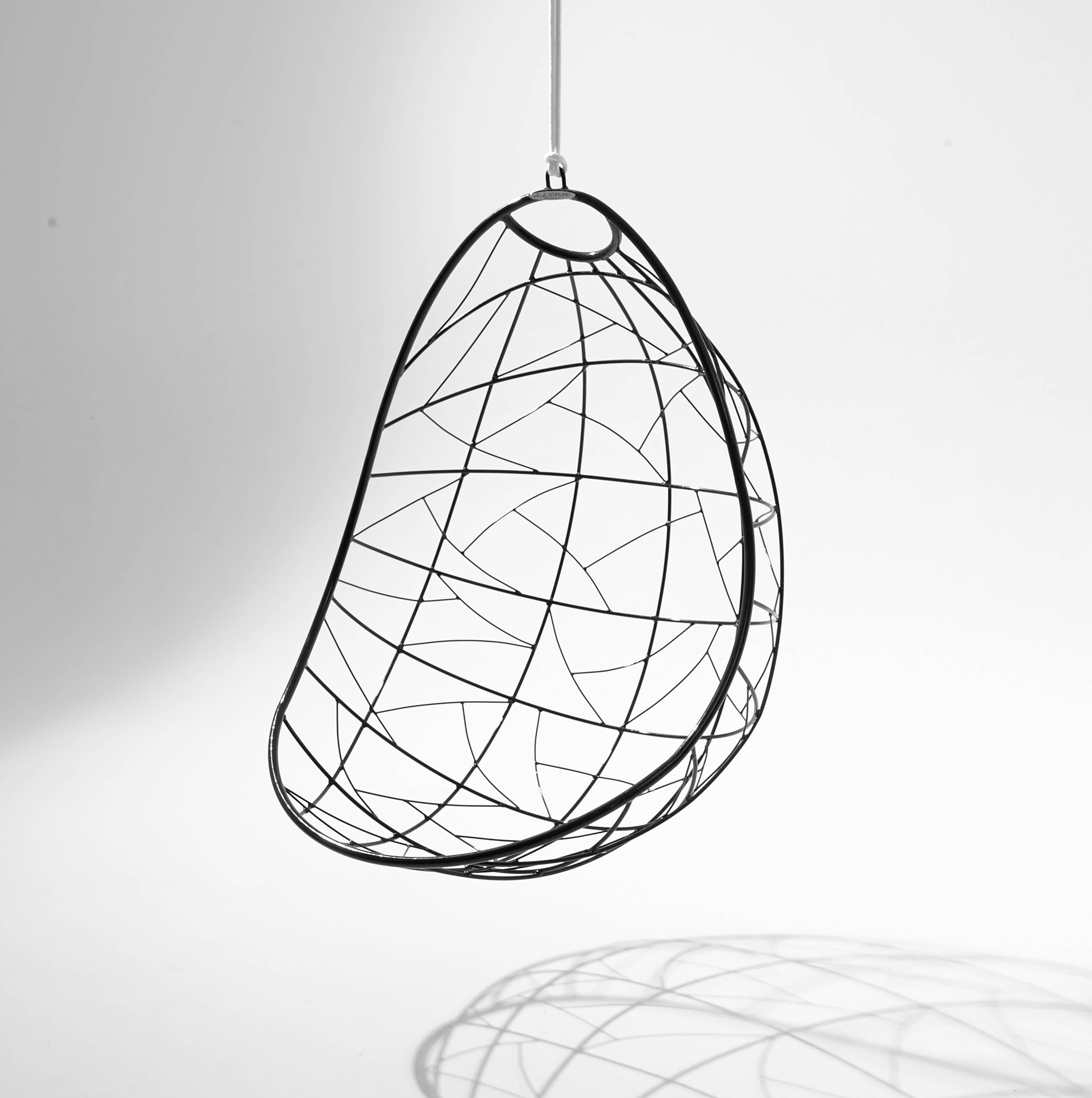 swing chair drawing graco duodiner high reviews nest egg hanging for sale at 1stdibs hand crafted