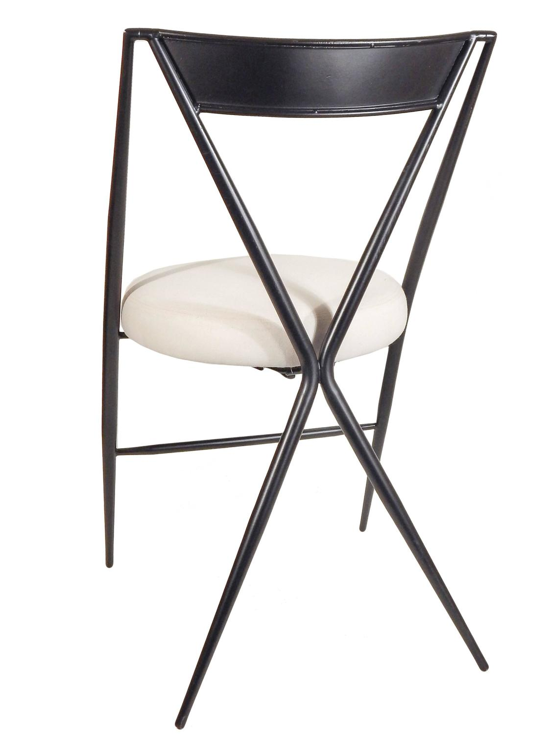 Modern Folding Chairs Pair Of Mid Century Modern Folding Chairs For Sale At 1stdibs