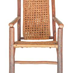 Hickory Chairs For Sale Solid Oak Rocking Chair Rare Pair Of Old Lounge At 1stdibs