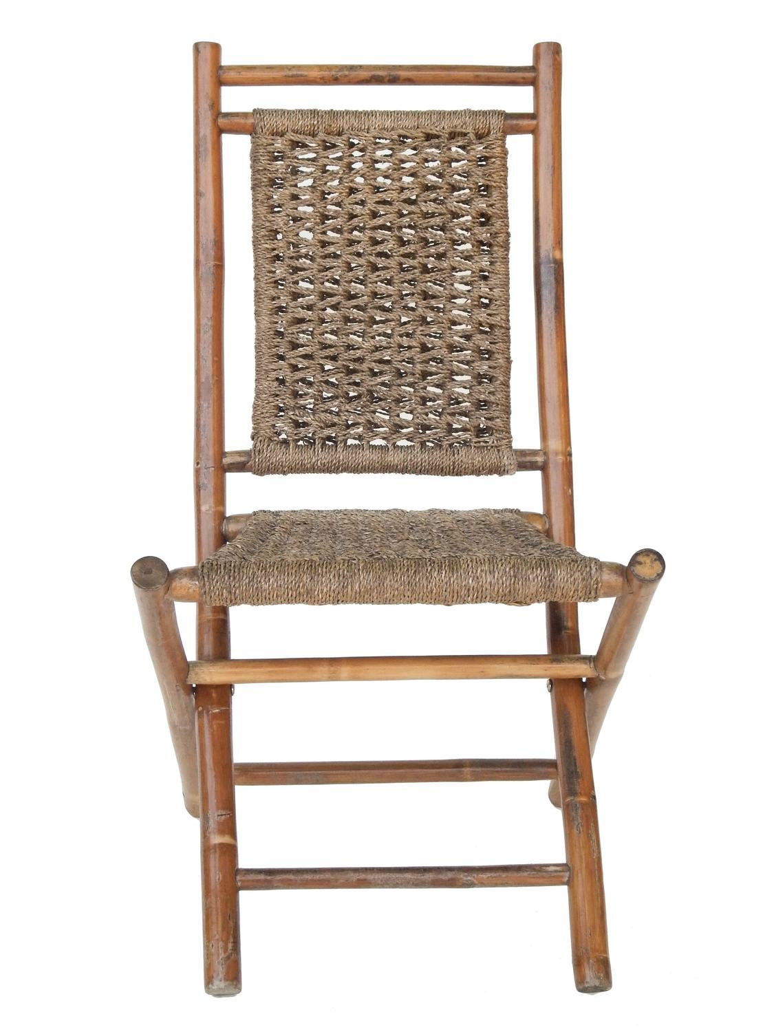 sea grass chairs lounge chair cushions target folding bamboo and seagrass for sale at 1stdibs