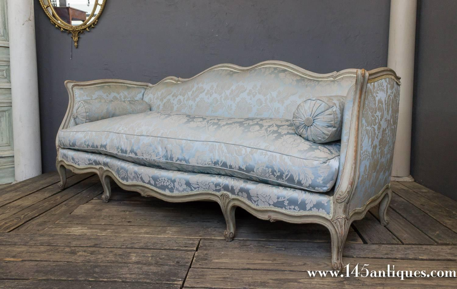 french style sofas for sale grey small double sofa bed louis xv at 1stdibs