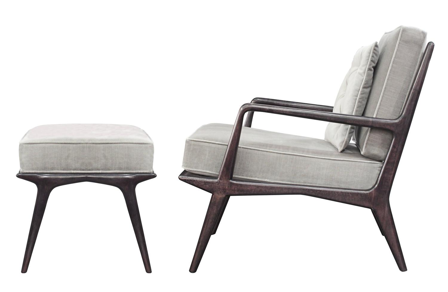 chair and ottoman sets under 200 bamboo repair by carlo de carli for sale at 1stdibs