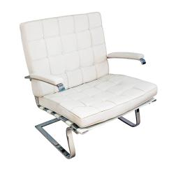 White Leather Chairs For Sale High Back Chair Cushions Australia Pair Of Tugendhat In 1990s