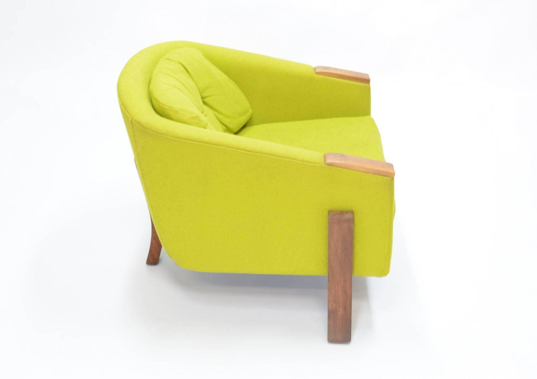 pop up recliner chairs childrens walmart art danish tripod club in the manner of hans