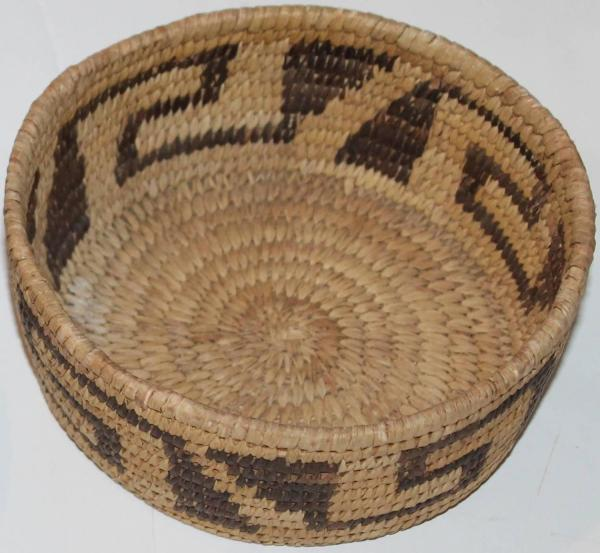 Collection Of Four Papago And Pima Indian Baskets