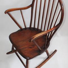Antique Windsor Chair Identification Best Glider Chairs 18th Century Extended Arm Rocking For Sale