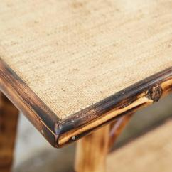 Legare Bamboo Sofa Table Fix Sagging Cushions For Sale At 1stdibs