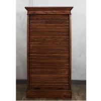 Roll Front Card File Cabinet For Sale at 1stdibs