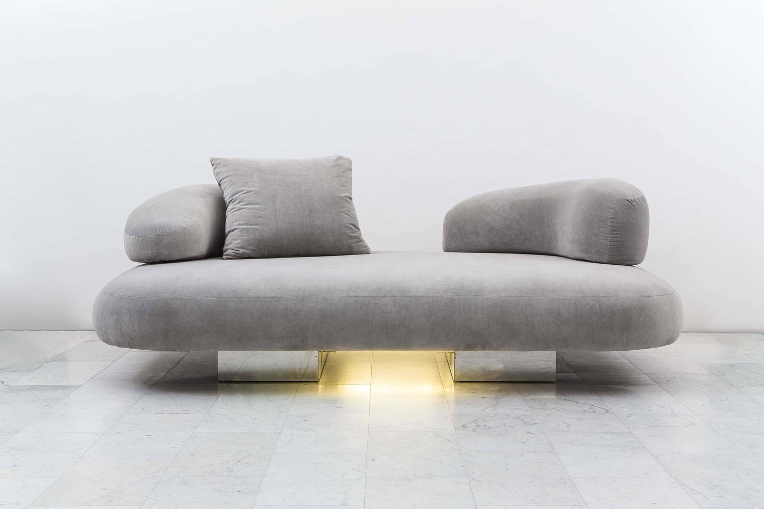 cloud sofa for sale new design modern bonded leather bed custom pillow by paul evans usa 1979