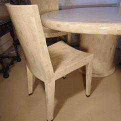 Maitland Smith Dining Chairs Desk Chair Mat Staples Tessellated Marble Table And Four By