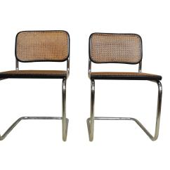 Breuer Chairs For Sale Swivel Chair Legs Pair Of Vintage Bauhaus Cesca By Marcel