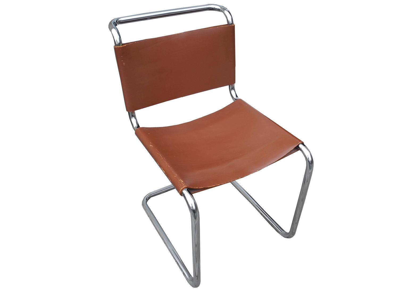 mart stam chair wheelchair jeep bauhaus design cantilevered tubular metal and saddle