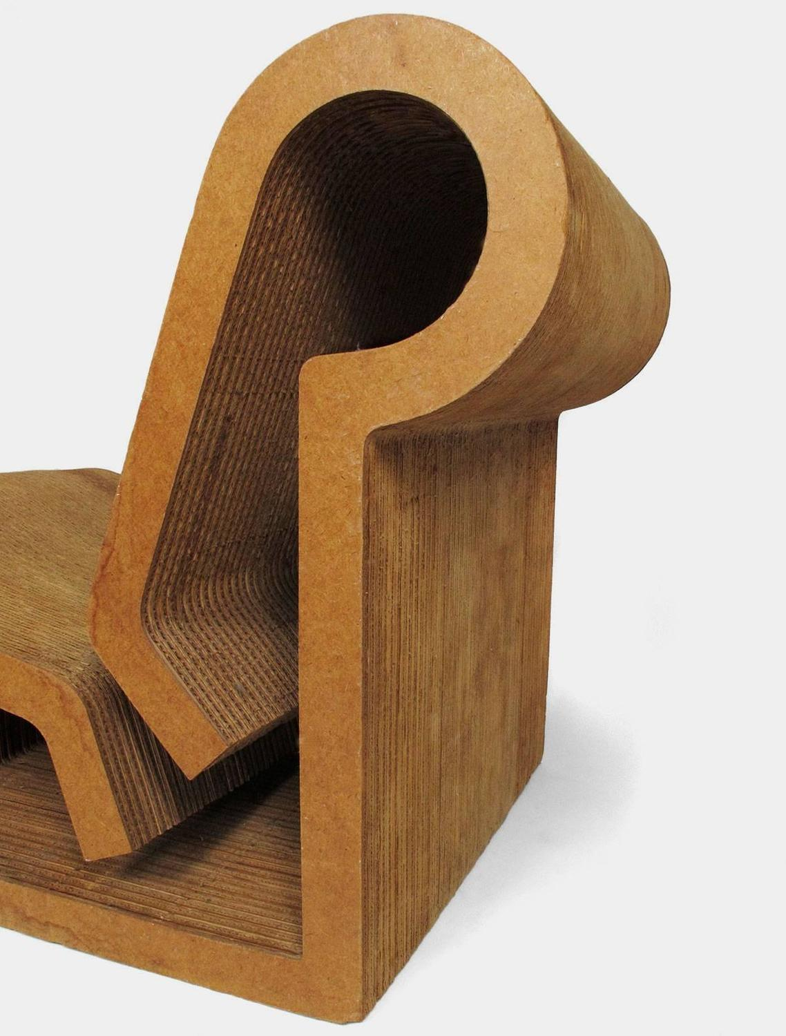 frank gehry cardboard chairs sky chair stand quoteasy edges quot contour for sale at 1stdibs