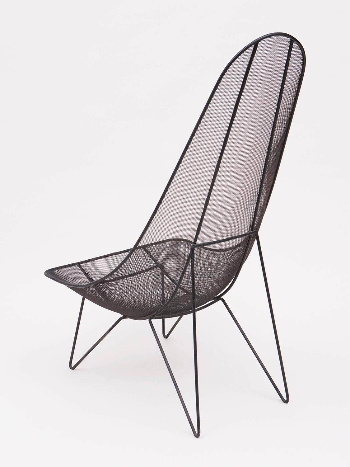 Mesh Lounge Chair Sol Bloom Scoop High Back Mesh Lounge Chair For Sale At