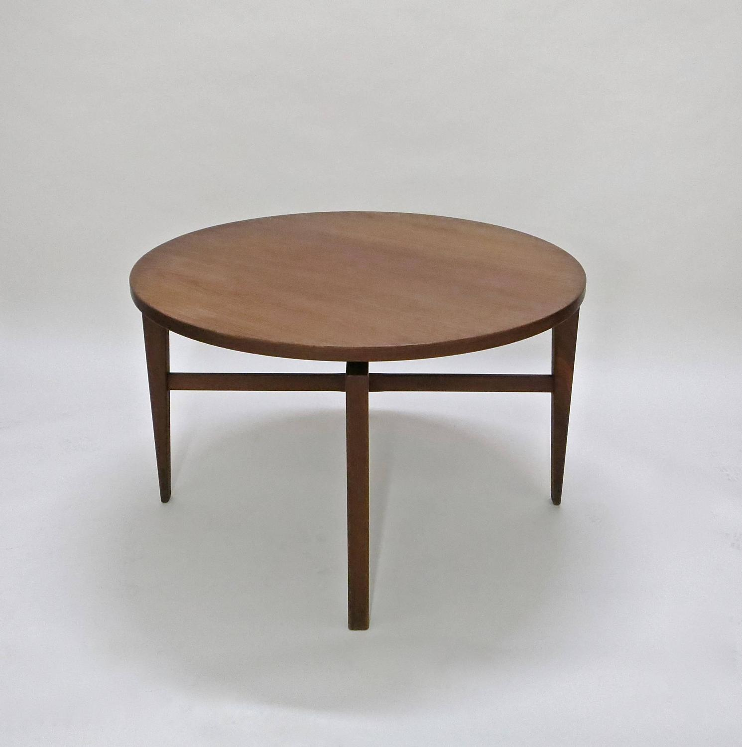 revolving chair supplier folding chairs wood rotating table by jens risom circa 1950 original
