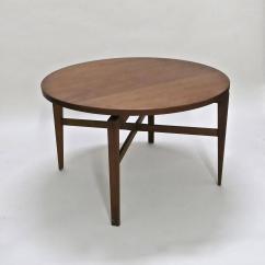 Revolving Chair Manufacturers In Vadodara Garden Swing Nz Rotating Table By Jens Risom Circa 1950 Original
