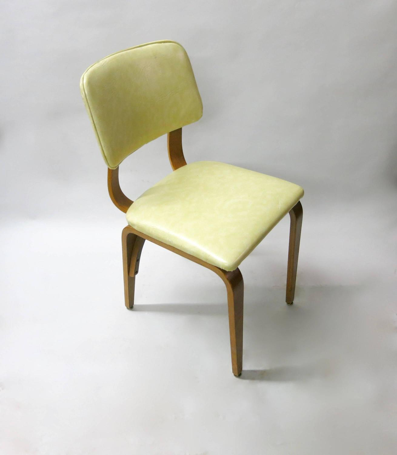 see through dining chairs lina leather folding chair set of 16 by thonet circa 1960 at 1stdibs