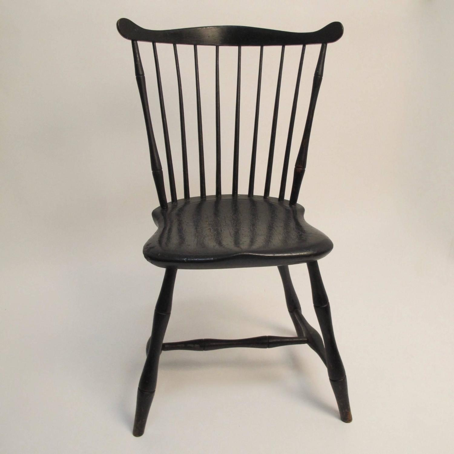 Windsor Style Chairs Early American Windsor Side Chair For Sale At 1stdibs