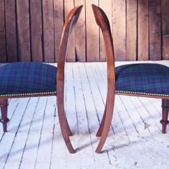 Tartan Dining Chair Covers For Sale Church Accessories William Iv Set Of 8 39balloon 39 Chairs In Cuban Mahogany And