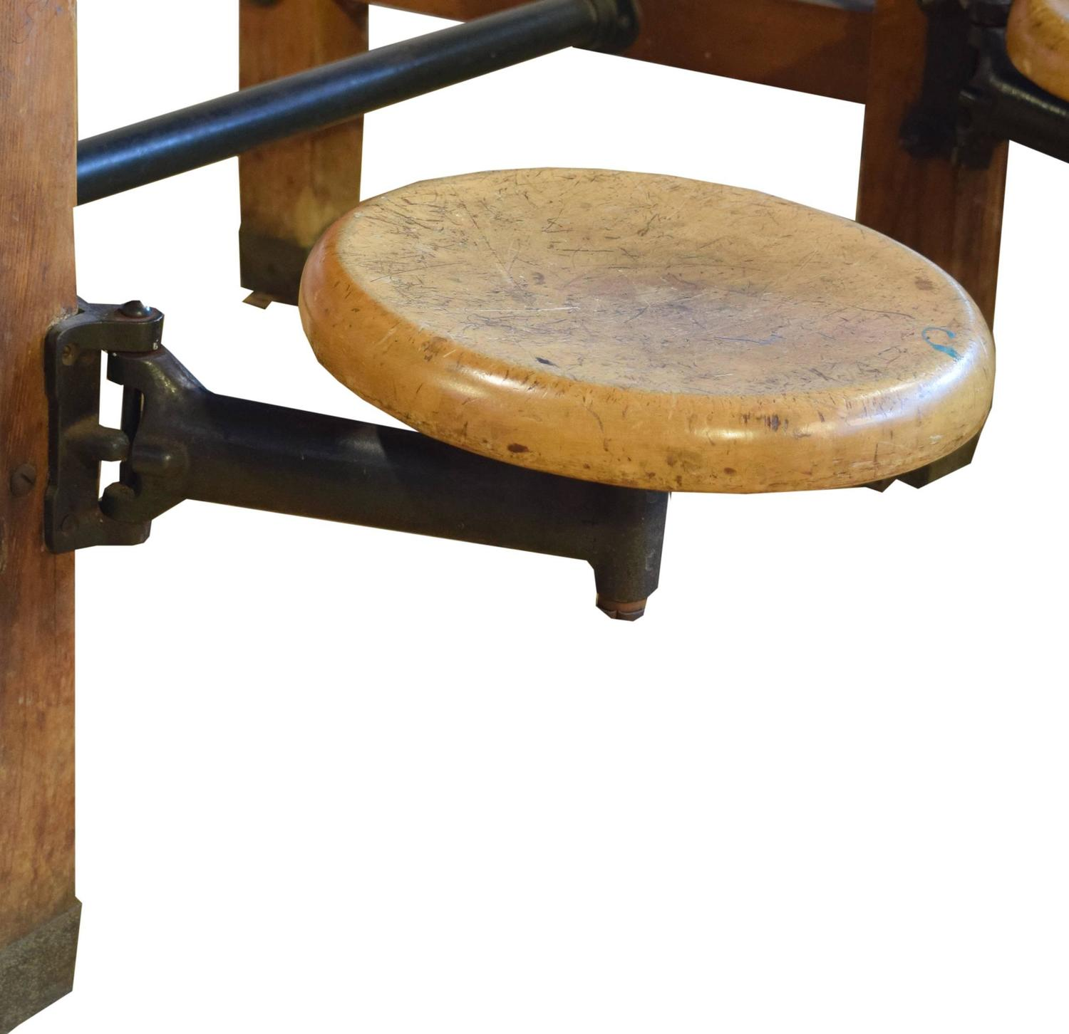 swing chair dining table exercise ball cover with arm seats at 1stdibs