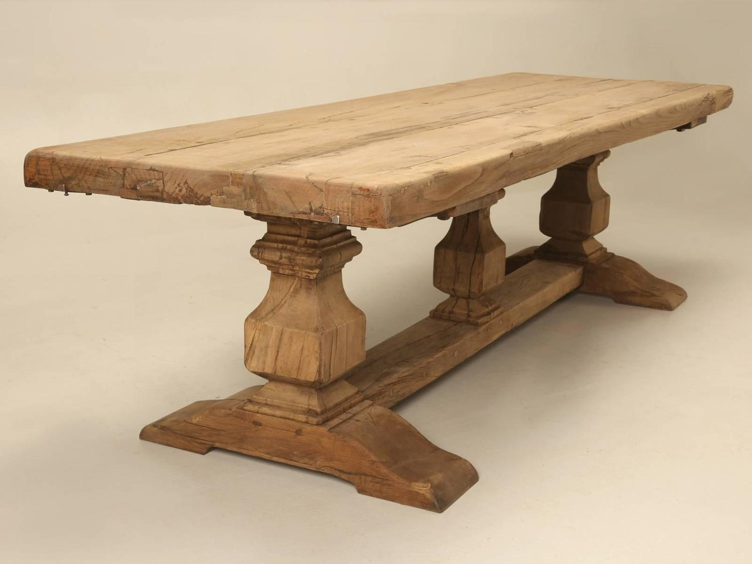 French Trestle Antique Dining Table For Sale At 1stdibs