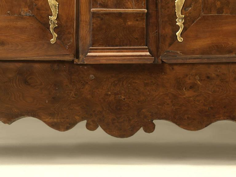 Antique French Yew Wood Buffet Circa 1800 For Sale At 1stdibs