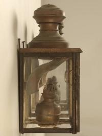 Antique French Gillet and Forest Kerosene Lanterns from ...