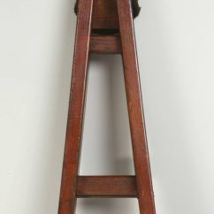 Bamboo Folding Chair Rustic Kitchen Table And Chairs Set Antique Cherry Orchard French Ladder At 1stdibs