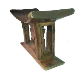 Stool Chair Ghana Revolving Bar Ashanti End Table From For Sale At 1stdibs