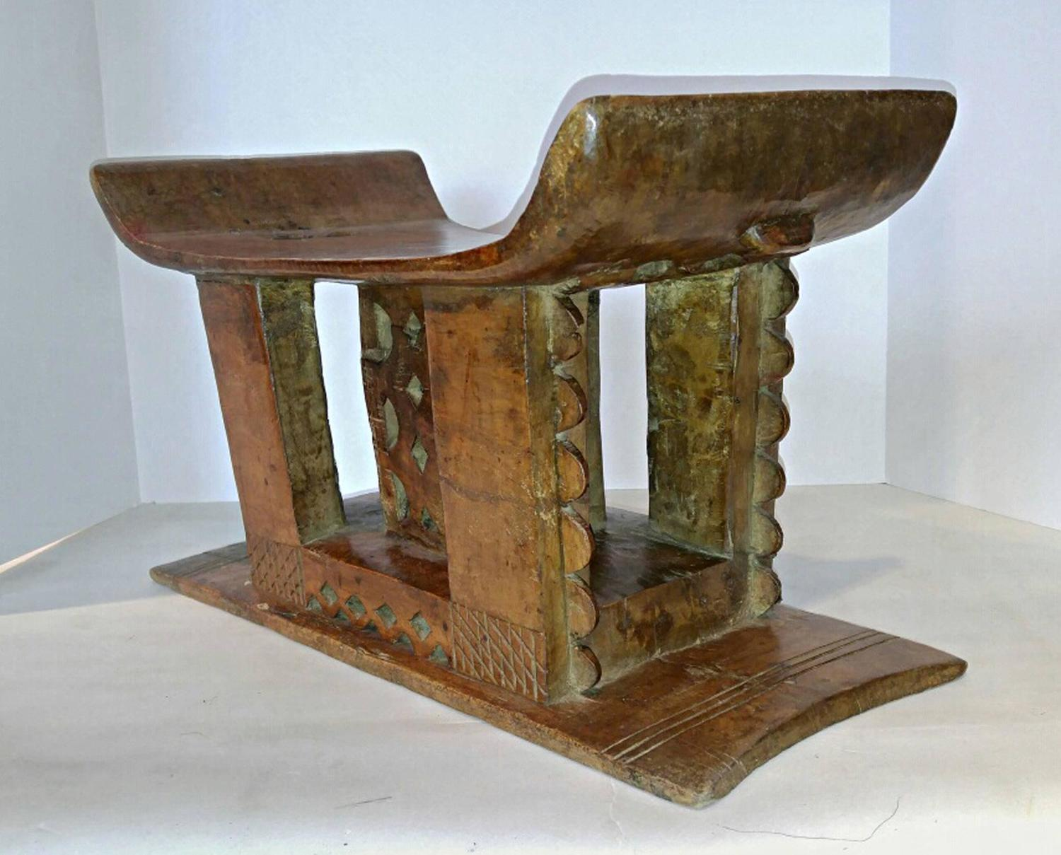 stool chair ghana diy wedding covers pinterest ashanti or end table from for sale at 1stdibs