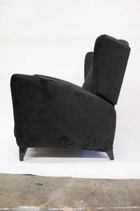 Mid-Century Reclining Wingback Chair at 1stdibs