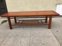 Mahogany Coffee Table by Heritage Henredon For Sale at 1stdibs