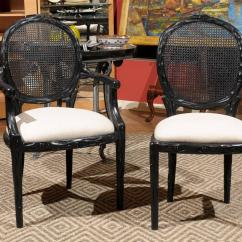 Cane Back Chairs For Sale Fold Up Reclining Lawn Set Of Six At 1stdibs