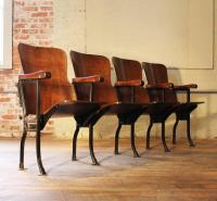 Antique Theater Chairs | Antique Furniture