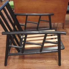 Ficks Reed Chair Club With Wheels Pair Of Rattan Lounge Chairs At 1stdibs