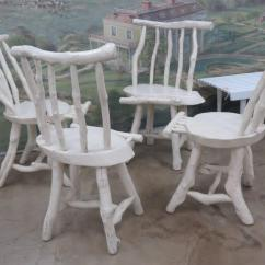 Adirondack Style Dining Chairs Swing Chair Au Four Rustic At 1stdibs