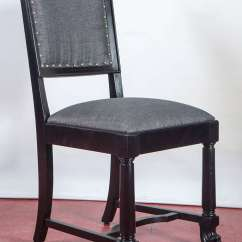 Arts And Crafts Style Chair Patio Cushions Big Lots Ebonized Dining Chairs For Sale At 1stdibs