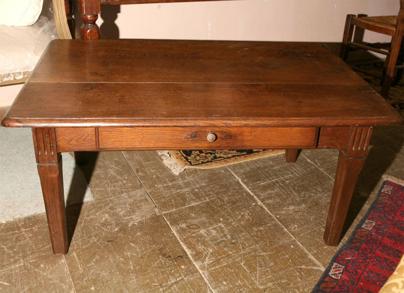 rustic french country coffee table