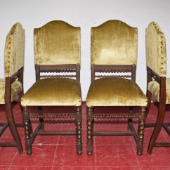 Dining Chair Styles Antique Tall Adirondack Chairs Four Jacobean Style For Sale At 1stdibs