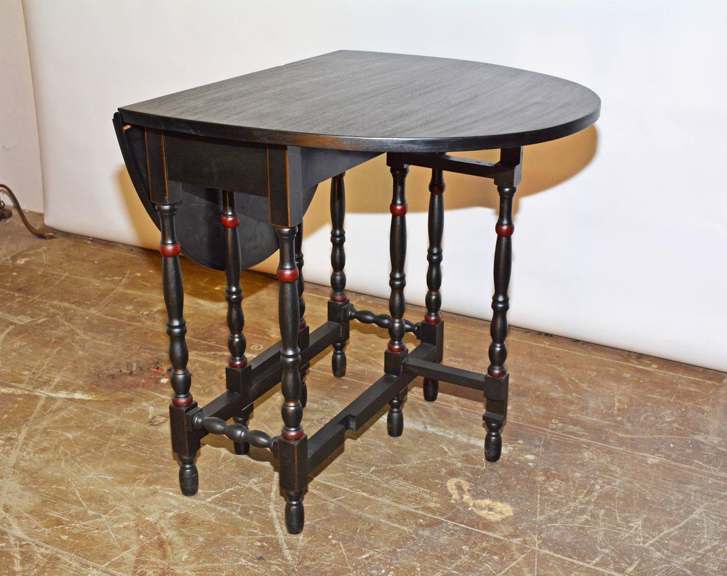 gateleg table with chairs comfortable lounge oval gate leg for sale at 1stdibs